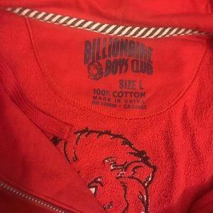 Billionaire Boys Club Sweaters - BillionaireBoysClub Red zip up Hoody size L